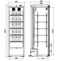 Refrigerador de medicamentos ERv 450